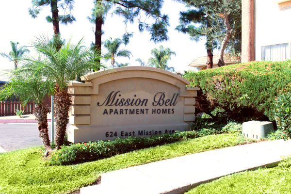 This image is the visual representation of Exteriors 24 in Mission Bell Apartments.