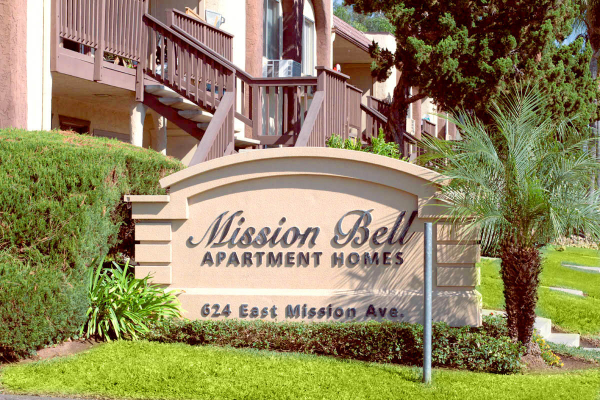 This Exteriors 21 photo can be viewed in person at the Mission Bell Apartments, so make a reservation and stop in today.