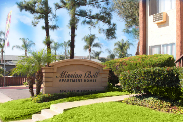 This image is the visual representation of Exteriors 15 in Mission Bell Apartments.